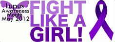 A lupus awareness Facebook cover photo by electricgrapes on Tumblr