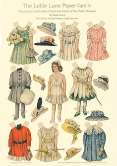 Antique paper dolls and paper toys to make - Joyce hamillrawcliffe - Picasa webbalbum
