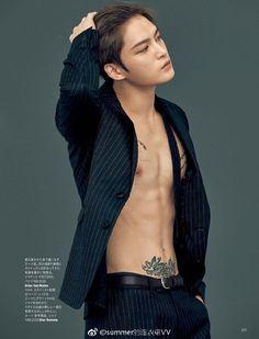 Kim Jaejoong Harper's Bazaar Japan