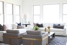 a modern beach bungalow  Read More on SMP: http://www.stylemepretty.com/living/2016/06/17/this-interior-design-instagram-star-shows-us-how-beach-bungalow-is-done/