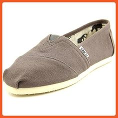 de4cc26979aed9 Toms Women s Classics Ash Freetown Casual Shoe 6 Women US. An elastic V for  easy on an off.