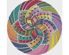 Mandala 1  Visualize  Counted Cross Stitch Pattern X-Stitch