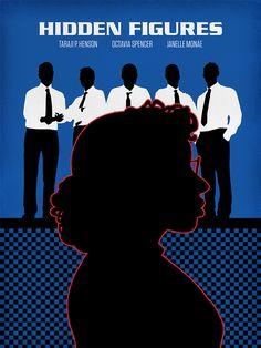 Hidden Figures - Pop art take on 2017 Best Picture nominees: http://shutr.bz/2mEjrhX