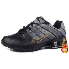 low priced ac458 79236 Chaussures Nike Shox NZ Noir  Gris  Or -   Nike Chaussure Pas Cher,Nike  Blazer and Timerland