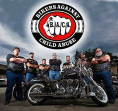 1000 Images About Baca Bikers Against Child Abuse On
