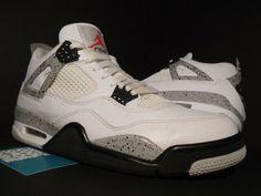 """official photos 66c97 1ad71 Details about 2016 Nike Air Jordan 4 IV Retro OG """"White Cement"""" 840606-192  Sz 8.5"""