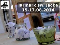Jak już wcześniej wspominaliśmy, w dniach 15-17 sierpnia w Warszawie przy ul. Freta 10 odbędzie się kolejny Jarmark św. Jacka. Jego głównym organizatorem jest Grupa Charytatywni Freta działająca przy kościele św. Jacka (oo. dominikanie). Całkowity dochód z tego przedsięwzięcia przeznaczony zostanie na główny cel Grupy Charytatywni Freta – dożywianie dzieci.
