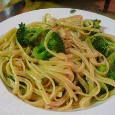 Paste cu broccoli şi usturoi (de la 1 an)
