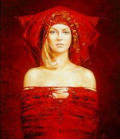 Red - 2005 by Karol Bak.