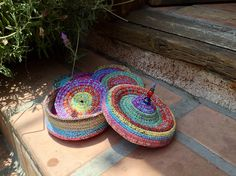 1000+ images about Crochet Coasters & Coaster Baskets on ...