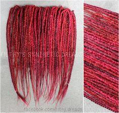 #synthetic #dreads #dreadlocks #handmade #black #fake #natural #crocheted #edinburgh #edynburg #dredloki #dreadloki #roots #hair #extensions #wavy #transistonal #ombre