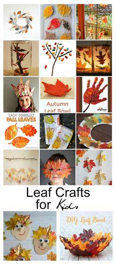 Fall Ideas  Leaf Cra