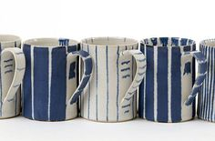 Glimpse of Style: Blue and white ceramics