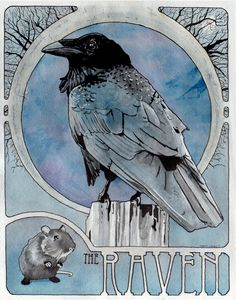 "Crows Ravens: ""The #Raven."""