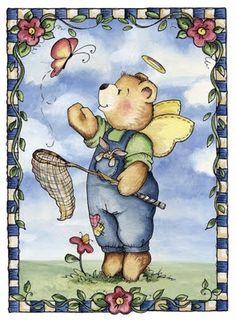Borboleta Azul: Ilustrações de Laurie Furnell/Ursos