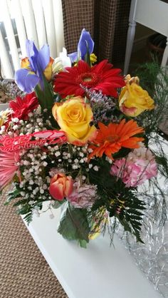 February 14, 2016- More flowers!   What a good Valentines Day!