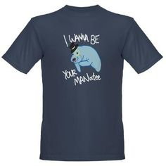 MANatee - Organic Men's T-Shirt (dark)