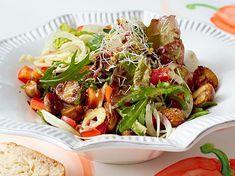 Fitness-Salat mit Haselnussdressing Rezept