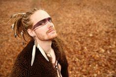 http://darkfairycircus.tumblr.com    niiv:    A lovely man; photoshoot by Hats 'n Dreads team.