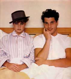 Italian Vogue from 1980's