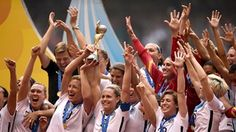 US women's national soccer team World Cup victory 2015