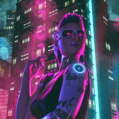 "scifiseries:  """"Night Out"" by David Legnon  """