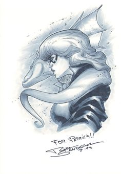 Kitty Pryde & Lockheed - Sandoval Comic Art