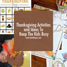 Thanksgiving Activities and Ideas To Keep The Kids Busy thanks  giving thanksgiving ideas kids thanksgiving ideas diy kids thanksgiving ideas diy thanksgiving ideas