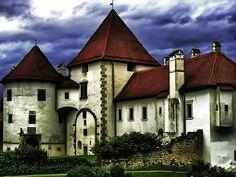 Old Town Varazdin, Castle Erdödy, Varazdin, Croatia