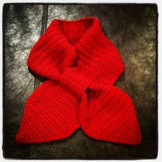 "Ravelry: adult ""sweetheart"" scarf pattern by Kristin's Creations"