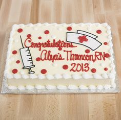 nursing cakes graduation - Google Search