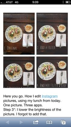 http://girlsack.com/post/45621748738/here-you-go-how-i-edit-instagram-pictures-using  Tips for instagram photo editing.