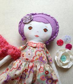 Fabric Doll Handmade / Rag Doll Handmade / Rag Dolls /