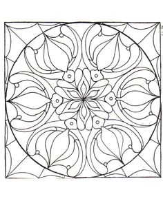 color your own mandala