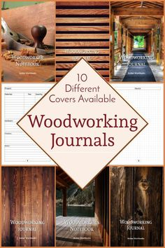 Plan your next woodworking project with the help of this note book, with a materials list and special pages for sketches to flesh out your ideas. Woodworking Journal, Woodworking Ideas, Project Planner, Graph Paper, Journal Notebook, The Help, Sketches, How To Plan, Home Decor