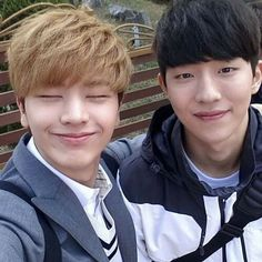 Nam Joo Hyuk and BTOB Sungjae #school2015