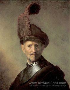 An Officer - Rembrandt van Rijn