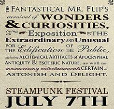 Steampunk Festival July 7th Bellingham Washington    @livegoodbehappy  www.livegoodbehappy.com