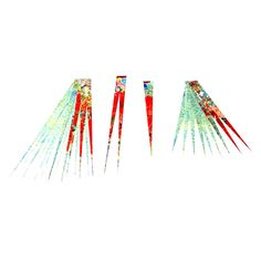 Paper Strips Multi Color Make Paper Beads by GroundZeroCreations