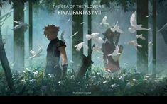 Final Fantasy Vii Remake, Artwork Final Fantasy, Final Fantasy Funny, Final Fantasy Cloud, Final Fantasy Characters, Fantasy Series, Fantasy Tattoos, Lines Wallpaper, Lion Of Judah