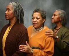 Gray natural hair women:  Hair and Photography by Shante Fagans of Detroit, Michigan @shantefagans Instagram