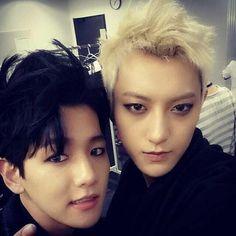 Tao's instagram Update:  Tao and Baekhyun
