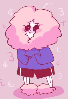 Fluffy Sans by World-of-Saranime on DeviantArt - I want to draw this on top of my notebook BUT WHAT WILL I SAY WHEN PEOPLE ASK ME WHAT THIS IS? XD