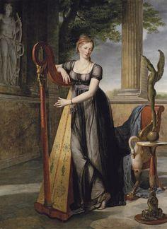 Antoine-Jean-Joseph-Éléonore Ansiaux [1764-1840] - Portrait of Marie-Denise Smits
