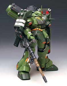 MG 1/100 Geara Doga [Heavy Armament Type] - Customized Build  Modeled by ZIGGY