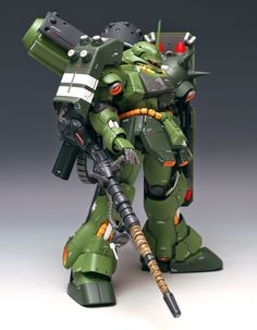 MG 1/100 Geara Doga [Heavy Armament Type] - Customized Build  Modeled by ZIGGY