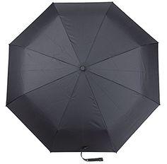 Paraguas para Viajar con Cobertor a Prueba de Agua. Se Abre y Cierra Automáticamente con Tela que Repele la Lluvia y Costillas de Fibra de Vidrio (Color Negro) - http://comprarparaguas.com/baratos/de-colores/negro/paraguas-para-viajar-con-cobertor-a-prueba-de-agua-se-abre-y-cierra-automaticamente-con-tela-que-repele-la-lluvia-y-costillas-de-fibra-de-vidrio-color-negro/