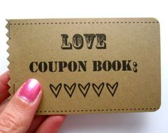 Adult Love Coupon Book FOR HIM DIY Printable by lilypadpress