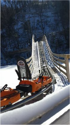 Smoky Mountain Alpine Coaster - Enjoy Pigeon Forge's newest Attraction! Ride the Hill, Feel the Thrill! #pigeonforge #tennessee #coaster