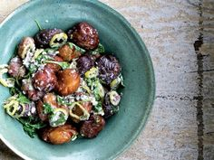 16 Perfect Potato Salad Recipes to Update Your Summer Picnic: Fried Potatoes with Kashkaval Cheese